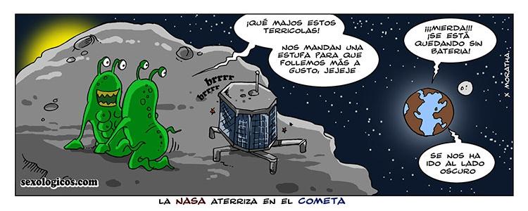 07.La NASA aterriza en el cometa
