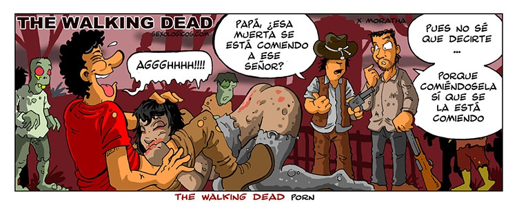 02.The walking dead porn