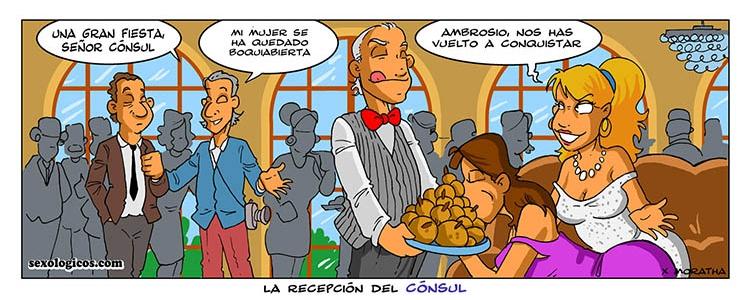 07.La recepción del Cónsul